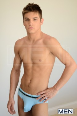 queermenow:  Cute Overload! Johhnny Rapid in Andrew Christian Video