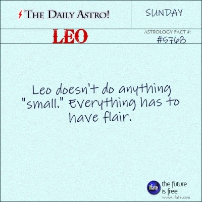 Leo 5768: Check out The Daily Astro for facts about Leo.and get a free online I Ching reading here