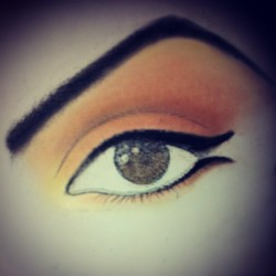 #Graphic_diary December 11,2012 #eye #makeup #beauty #color #art