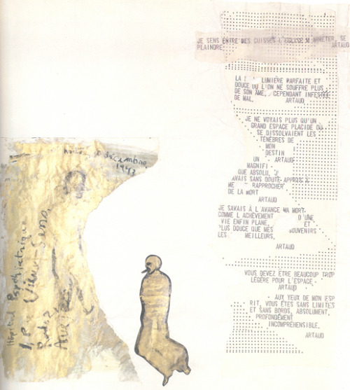 Nancy Spero, Codex Artaud XVII (1972) (detail)
