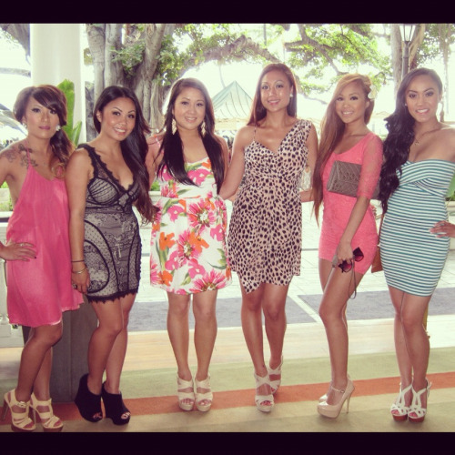 "hawaii may 2012. chris and sarena's wedding. ""the girlfriends"""