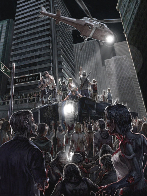 zombievangelion:  Rescue at 16TH and Broadway by =R-Tan