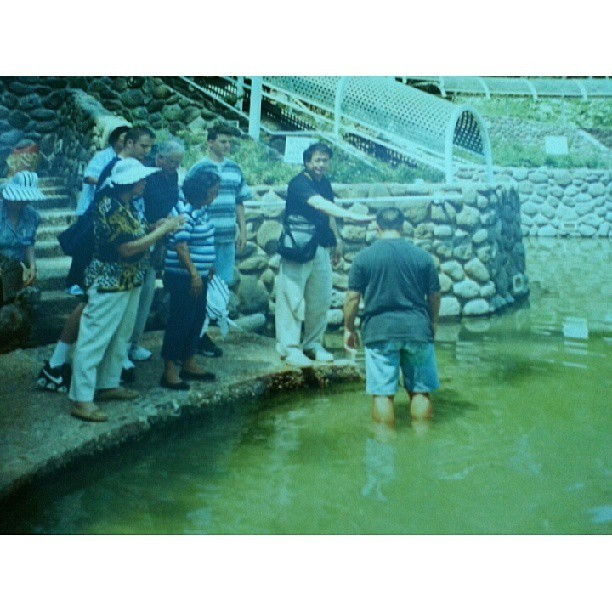 Me getting Baptized in the #jordanriver #israel . Just Thankful for being Blessed