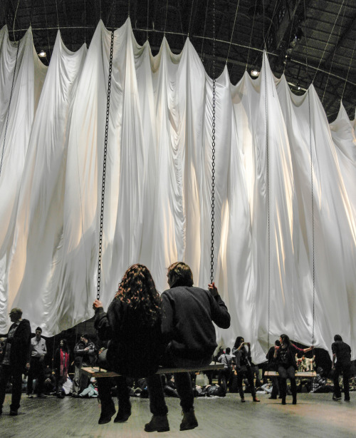 Ann Hamilton's The Event of a Thread Park Avenue Armory :: New York :: December 29, 2012 Check out full set here