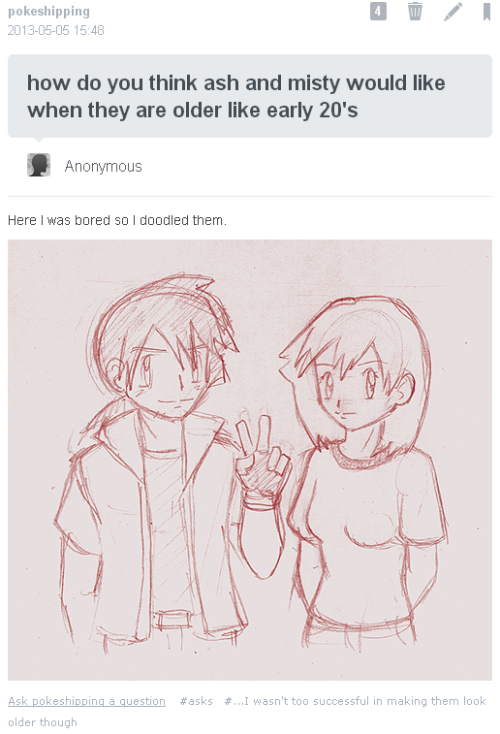 I wanted to reblog this here and then I remembered that you can't reblog asks /fail