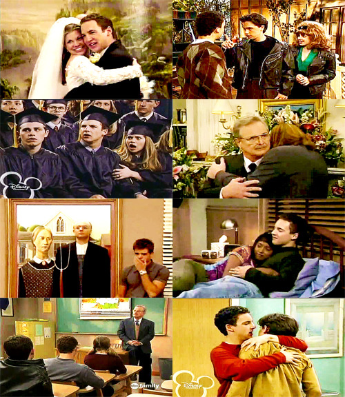 "Fangirl Challenge: [7/7] Television shows » Boy Meets World ""You don't have to be blood to be family."""