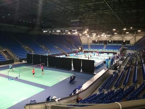 2014 Canada Open grand prix tournament venue. The thunder bird arena at UBC campus Vancouver, Canada. Played the tournament and made it to 2nd round.