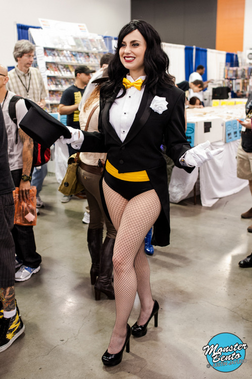 Meagan Marie as Zatanna, Big Wow! ComicFest 2013 (by Monster Bento)