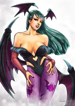 As found at:https://www.deviantart.com/terumbuu/art/Morrigan-Aensland-814142896
