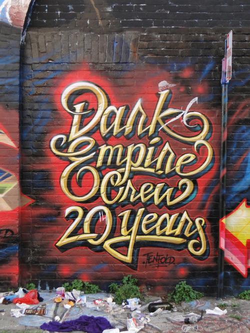 Dark Empire Graffiti Dark Empire Crew