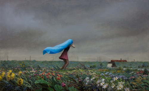 """Train"" by Aron Wiesenfeld (via his Flickr gallery)"