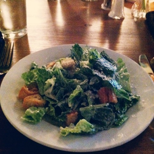 Cafe Monte Caesar Salade @CafeMonteBistro // {the five senses} in the Queen City #5senses #taste #southpark #cltfood #eatlocal #charlotte #clt #french [5.14.13]