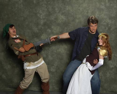 Nathan Fillion, you're my hero.