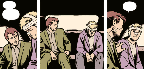 """""""Oh my gosh, that is exactly what it is like to be deaf. You know there are conversations going on and they may as well be empty speech bubbles on a page."""" (Leah Coleman, the girl who inspired Matt Fraction to write Clint's hearing loss into the Hawkeye storyline)"""