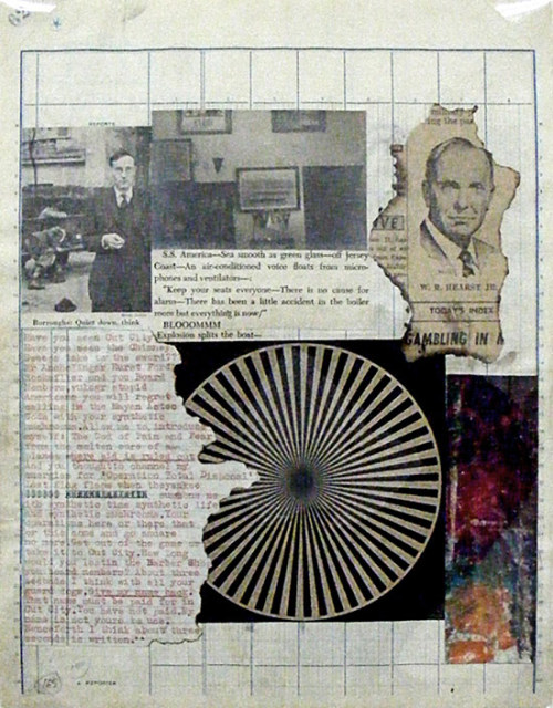 inneroptics:  Brian Gysin & William Burroughs, page from The Third Mind, 1965.