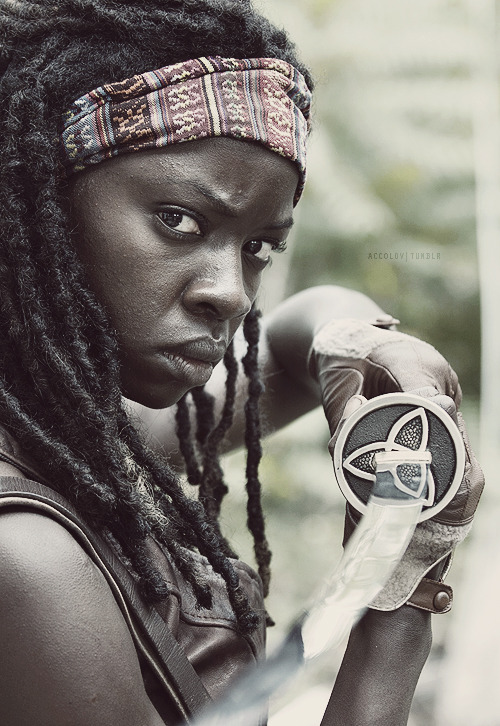 favourite characters  Michonne, The Walking Dead