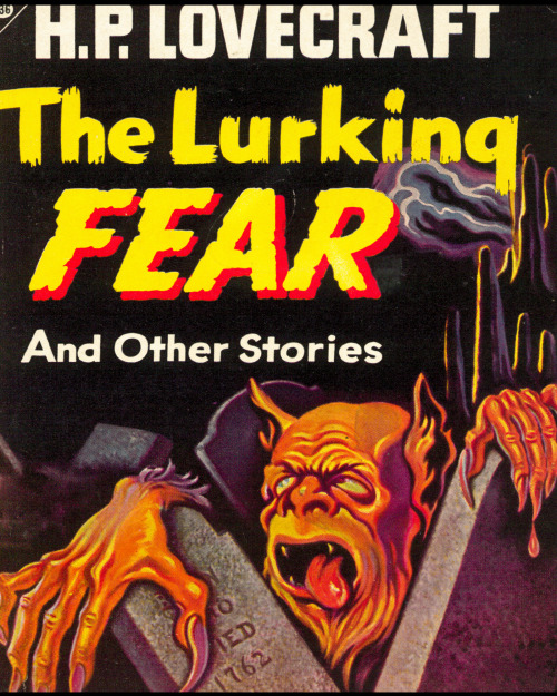The Lurking Fear by H.P. Lovecraft (Paperback, 1947) Great cover…