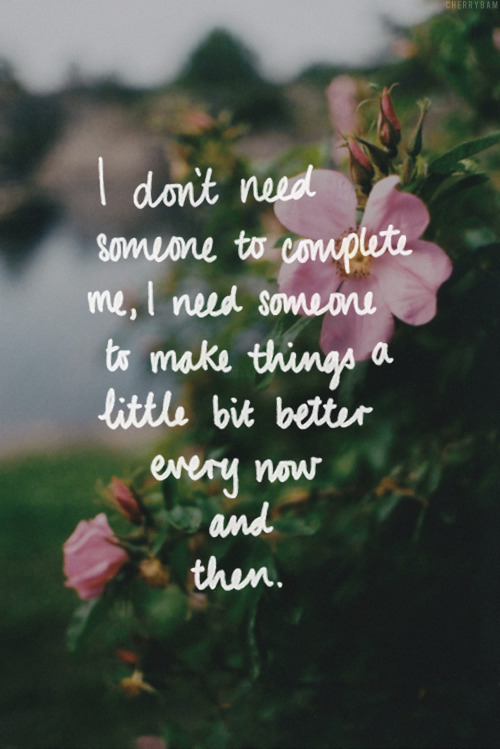 wonderfulsenses:  want more love/life quotes like this?