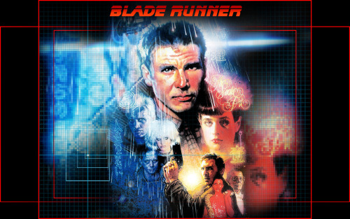 cosmicwolfstorm:  Blade Runner- by Ridley S cott  That skyline in the first 2 gifs was inspired by the industrial estates in the North East of England, specifically ICI.