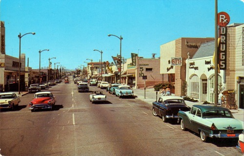 Manhattan Beach, CA in the late 1950s