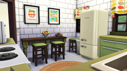 @simsfvr, I love this kitchen! Great colors!