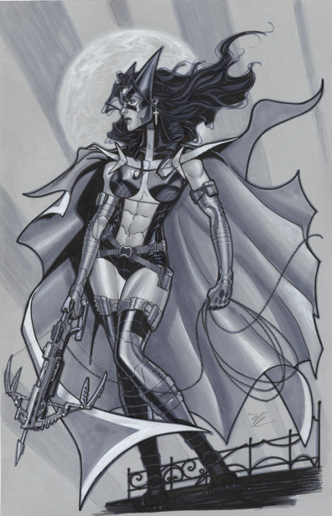 thehappysorceress:  Huntress by Michael Dooney