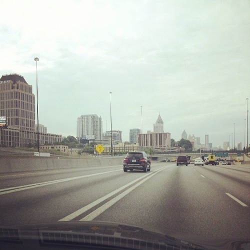 The view this morning #Downtown #MemphisBound