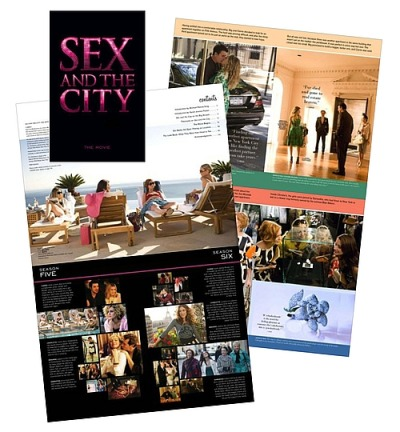 May Sex and the city kiss and tell book Amateur