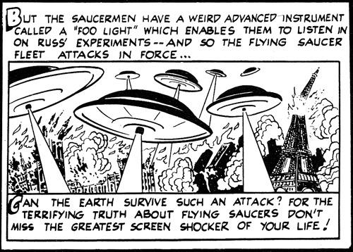 Foo lightearth vs the flying saucers 1956