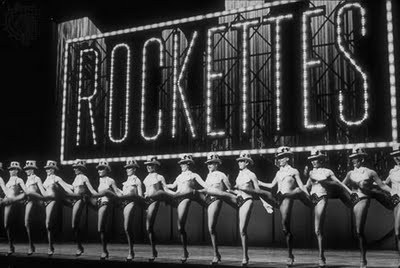 I saw The Rockettes that same day, a while after I left Sally. Allie and I used to go to see them all the time. The girls on stage were great and all, but we loved the kettle drum player in the orchestra. He really didn't do much, but he was always so proud and happy with what he did. I think everyone should think like that. People should just do what they can and be happy with that. Maybe everyone would be a lot less depressed then.