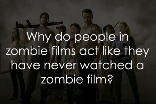 People in Zombie Movies