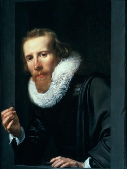 Werner van den Valckert: Portrait of a Man with Ring and Touchstone, 1617