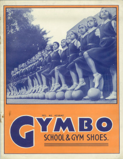 elevenacres:  Advertisement for Gymbo School & Gym Shoes. 1930