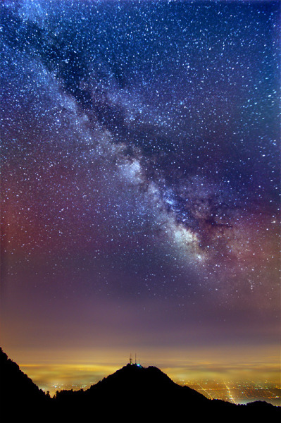 the-absolute-best-photography:  Milky Way vs. City Lights – My first attempt at computational astrophotography  You have to follow this blog, it's really awesome!