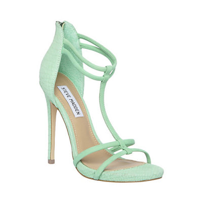 """Mila"" mint green sandal from Steve Madden spring/summer 2013 collection. Price $99.95. Click here to buy."