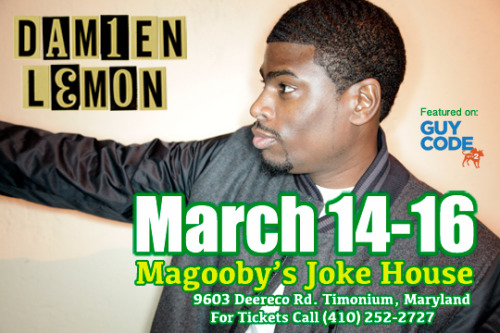 I'm coming to Baltimore to talk my shit. BUY TICKETS!