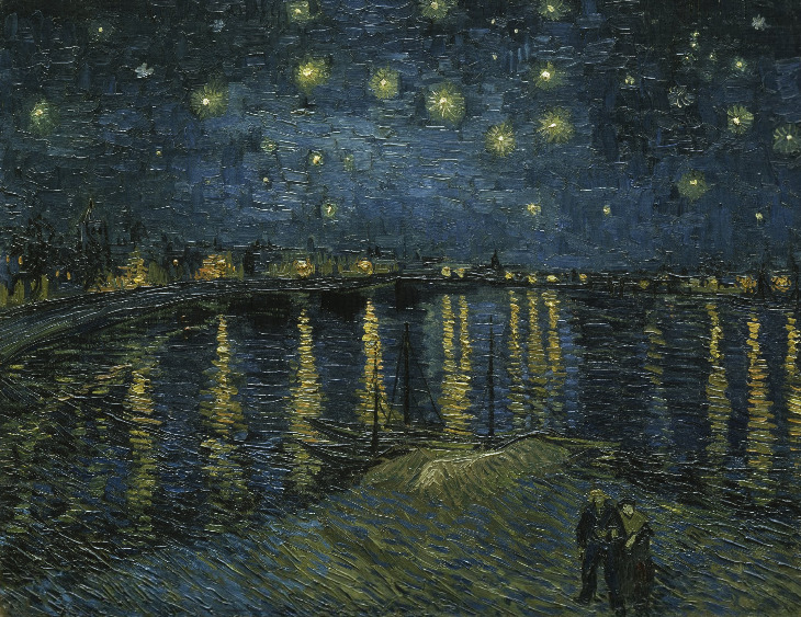 Starry Night 1888Vincent van Gogh