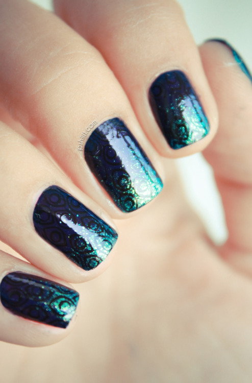 fuckyeahnailart:  (via #Thesundaynailbattle // Gradient Nails | PSHIIIT)