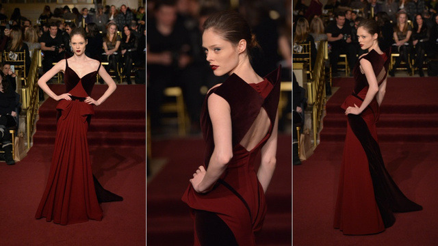 Coco Rocha, Zac Posen NY fashion week