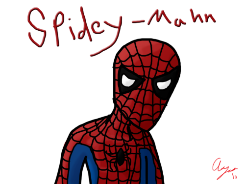 Quick Character #1: Spider-Man
