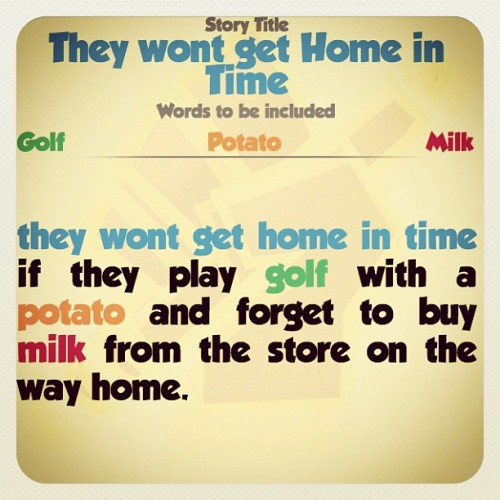 They Won't get Home in Time. By @chideltjen #writeitvs