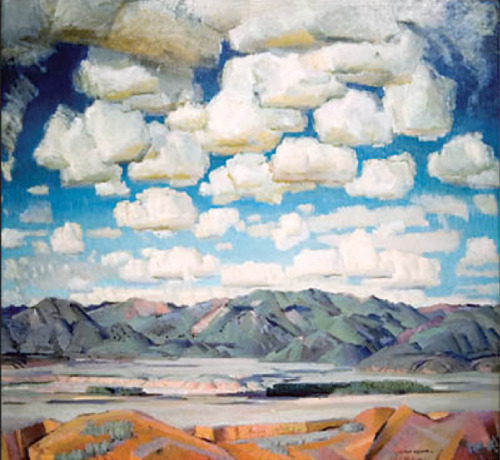 Victor Higgins, New Mexico Skies (1943)