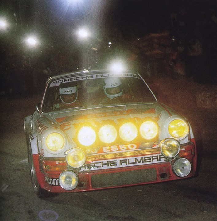 erikwestrallying: Porsche 911 rally car