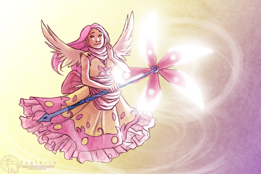 pugletto:  I did it.I drew Magical Girl!Ponies of Color.YOUR WELCOME.