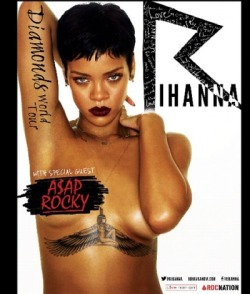 Check out the Rihanna 'Diamonds Tour' Poster! We already got out tickets!