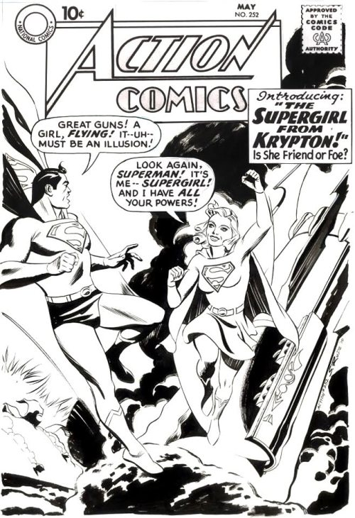 Steve Rude covers Action Comics #252