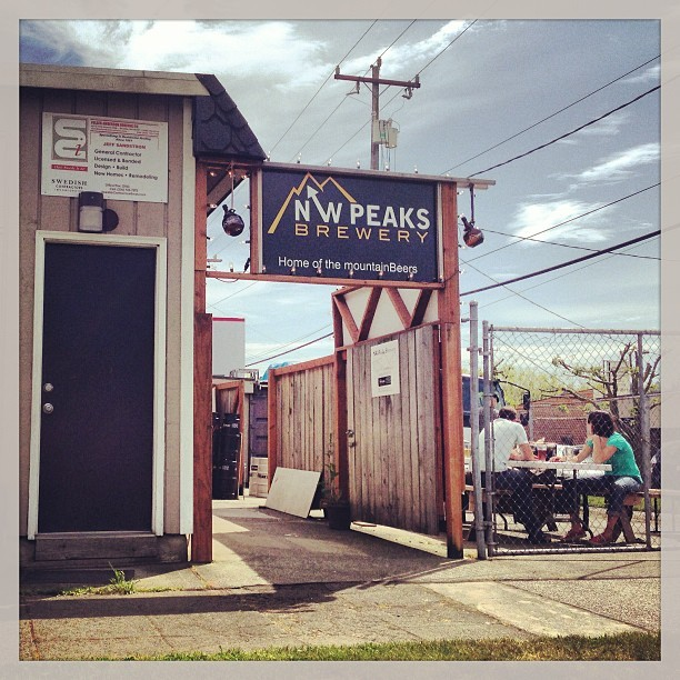 Saturday at NW Peaks Brewery, 11 May 2013 (at NW Peaks Brewery)