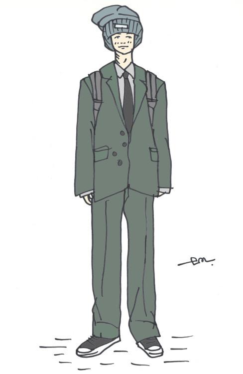 #em#subliminals#illustration#menswear#mens style#mensfashion#homme#male#fashion#mode#sneakers#Converse#suit#shirt#jacket