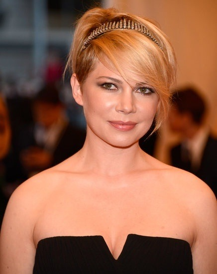#MetGala 2013 #hair and makeup - Michelle Williams!