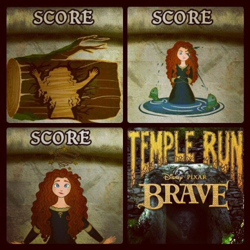 Cutest disney princess. Ever.  #TempleRun #Brave